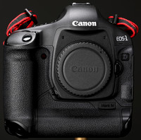 Canon 1D Mark IV Front View Taken March 24, 2015