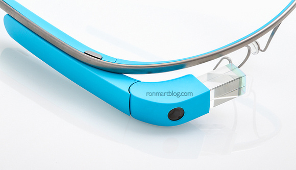 Google Glass XE12 Edition (Color: Sky)