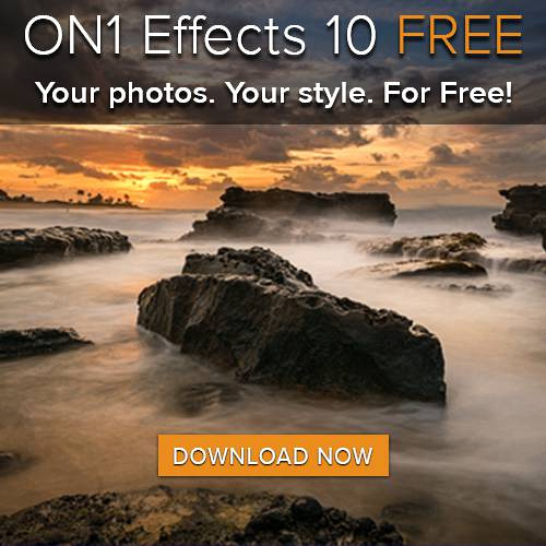 Download now to get your FREE Copy of on1 Effects 10