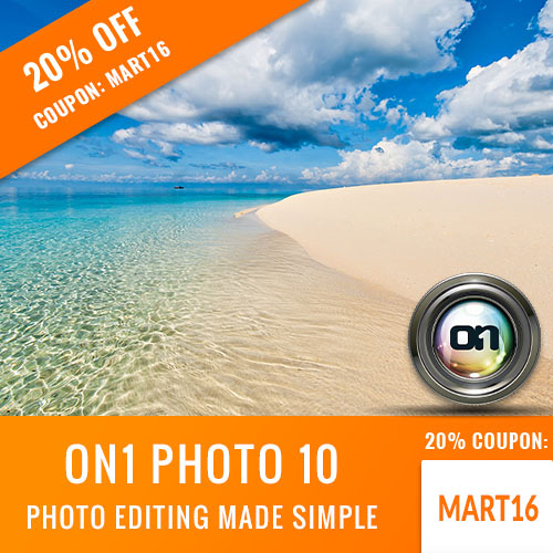 Ron martinsens photography blog 4116 my friends at on1 software have reactivated my coupon code with a 20 savings off all on1 software products like the full suite fandeluxe Gallery